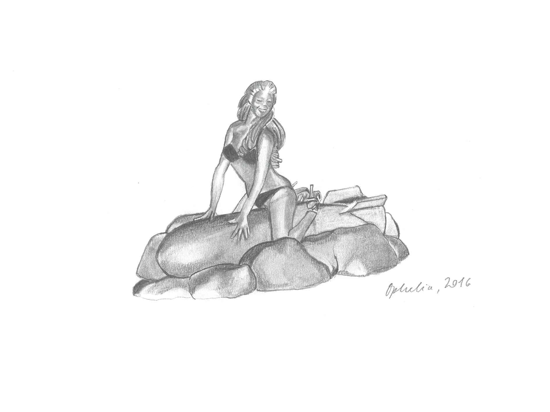 Bikini Ride - Ophelia Finke