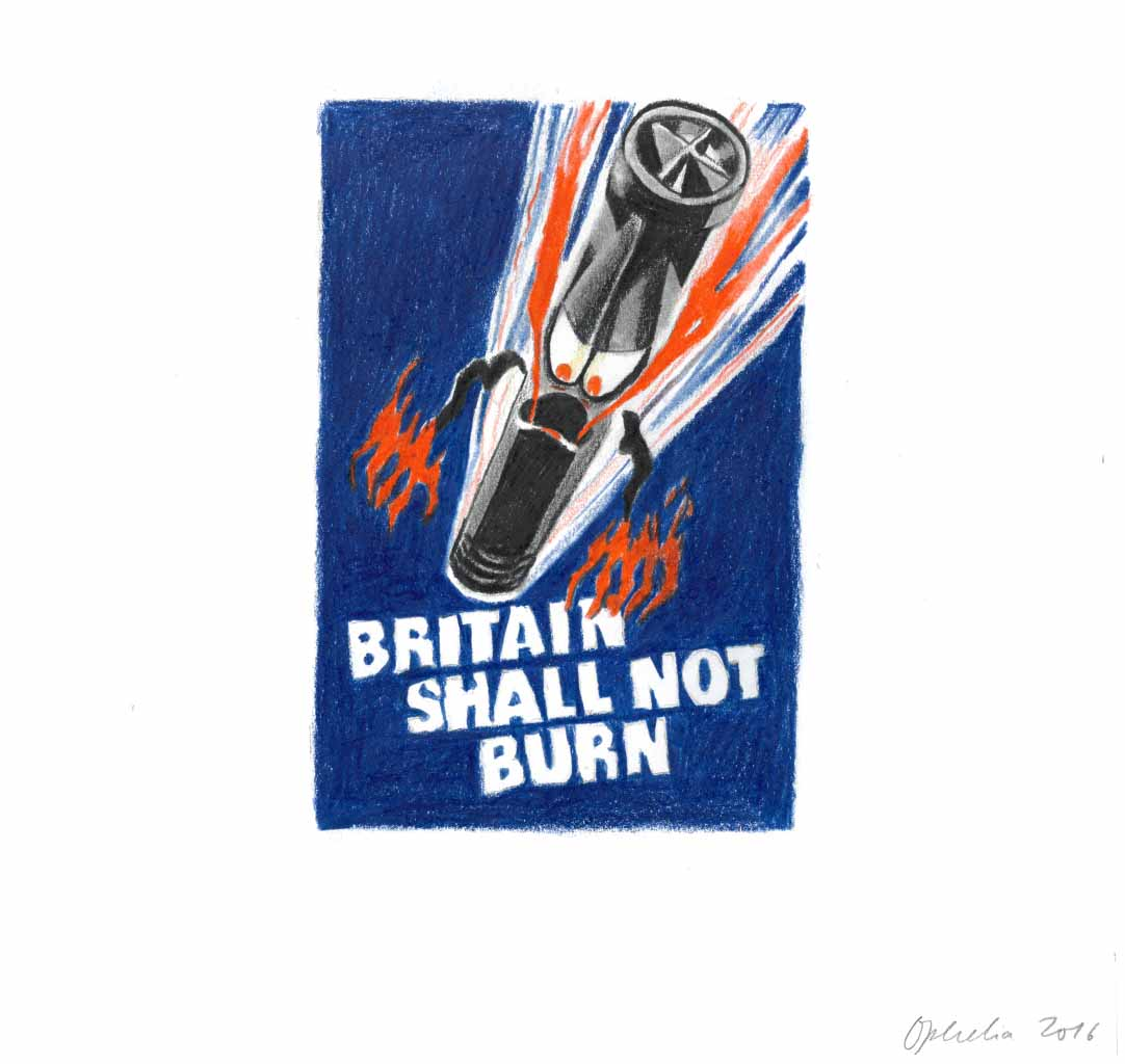 Britain Shall Not Brexit - Ophelia Finke