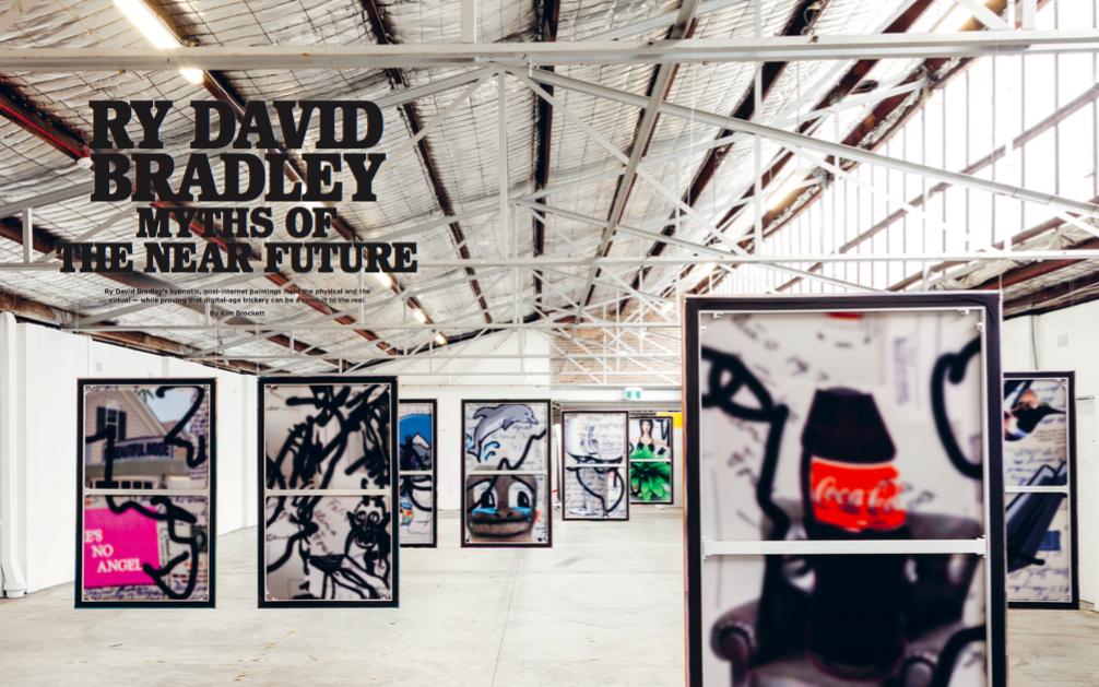 Ry David Bradley in Vault Magazine